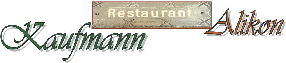 Restaurant Kaufmann Alikon